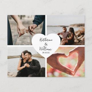 Budget Photo Collage Wedding Invitations