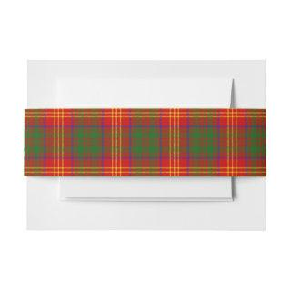 Burns Scottish Tartan Belly Band