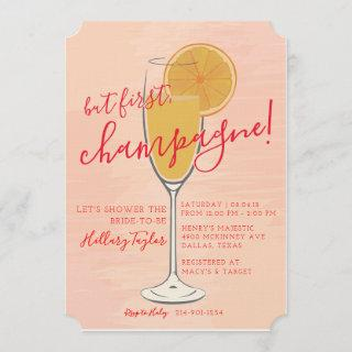 But First, Champagne Invitations