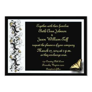 Butterfly Theme Invitations