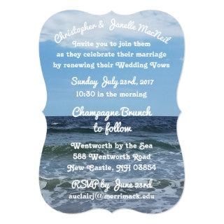 By The Sea High Definition Wedding Invitations