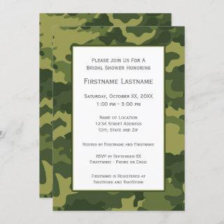 Camo Bridal Shower or Engagement Party