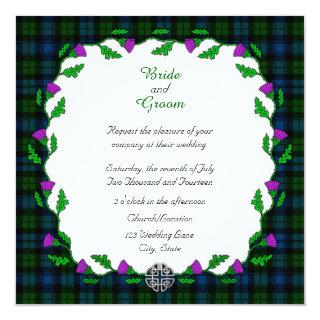 Campbell Celtic Wedding Invitation