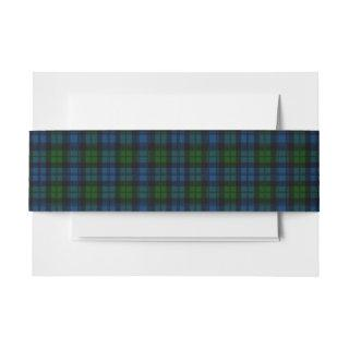 Campbell Scottish Tartan Belly Band