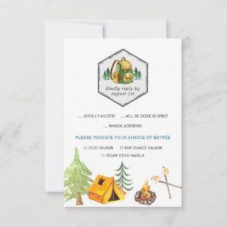 Camping Badges & Icons RSVP w/Meal Choice