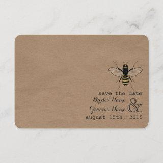 Cardstock nspired Honey Save The Date