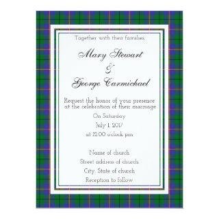 Carmichael Scottish Wedding Invitations