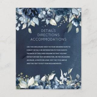 Cascading Peonies Wedding Details Accommodations