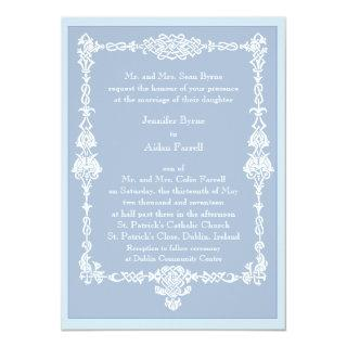 Celtic Frame Wedding Invitations - style 2