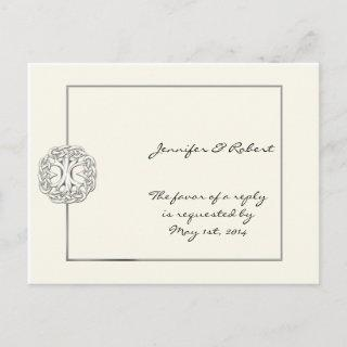 Celtic Tree of Life RSVP Postcard