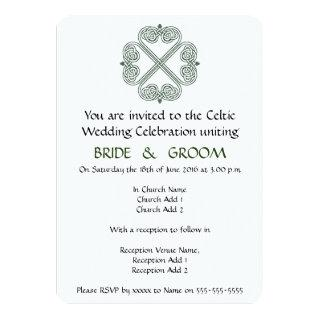 Celtic Wedding Celebration Invitations