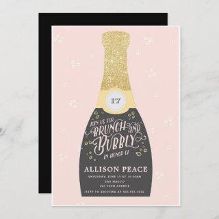 Champagne Brunch and Bubbly Shower