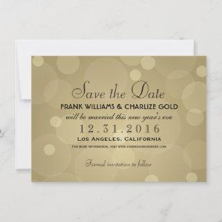 Champagne Gold | Wedding Save The Date