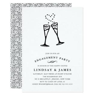 Champagne Pop | Engagement Party Invitation