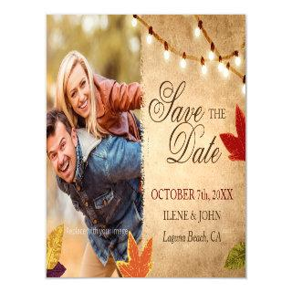 Cheap Save the Date Magnets | Rustic Wedding Ideas