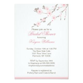 Cherry Blossom Bridal Shower Invitations