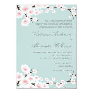 CHERRY BLOSSOMS | WEDDING Invitations