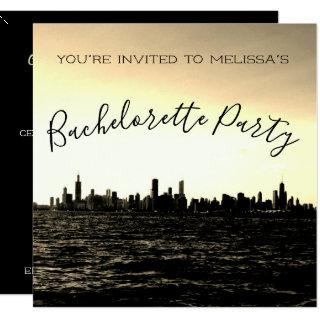 Chicago Skyline Party Invitations