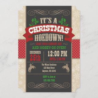 Christmas Hoedown Party
