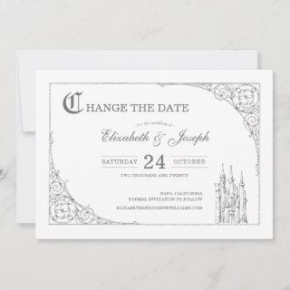 Cinderella Castle | Fairytale Change the Date Save The Date