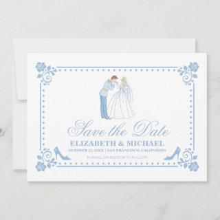Cinderella Wedding | Classic Save the Date