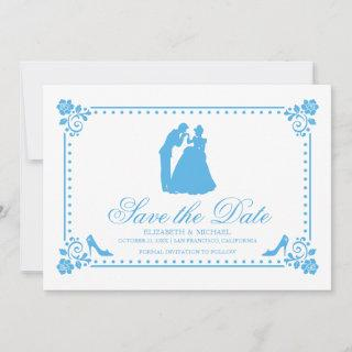 Cinderella Wedding | Silhouette Save the Date