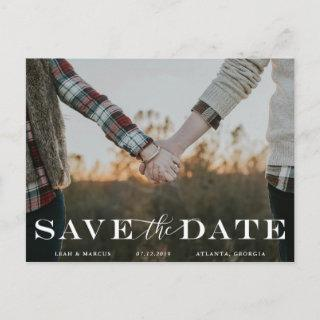 Classic Save The Date Postcard
