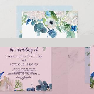Classic White Flowers The Wedding Of Invitations