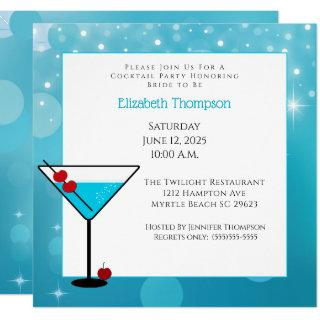 Cocktail  Party For Bride Invitations