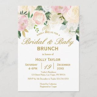 Combined Baby Shower and Bridal Shower Ideas Invitations