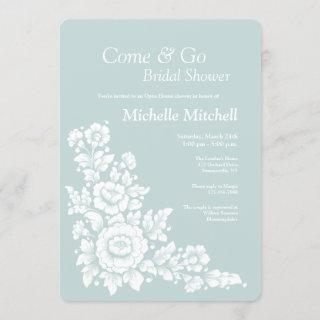Come and Go Wedding Shower Invitations