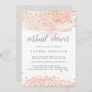 Confetti Pop | Virtual Bridal or Baby Shower Invitations