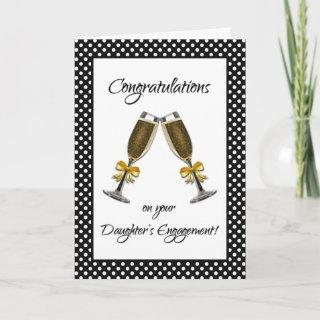 Congratulations on Your Daughter's Engagement! Card