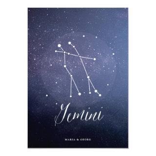 Constellation Star Celestial Table Number Gemini