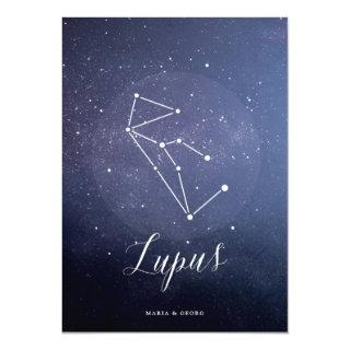 Constellation Star Celestial Table Number Lupus