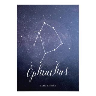 Constellation Star Table Number Ophiuchus