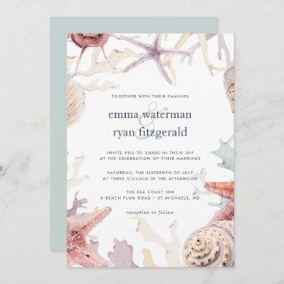 Coral Reef Wedding Invitations