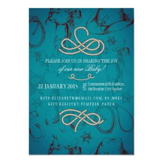 Country Western Baby Shower Invitations