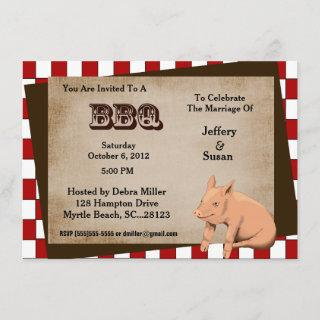 Couples Barbecue/cook out Invitations