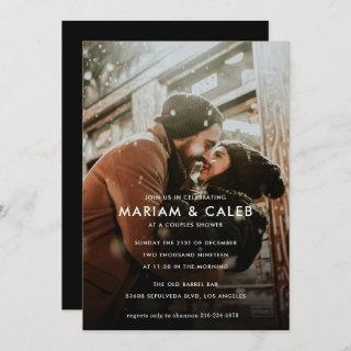 Couples Shower | Love Engagement Photo Invitation