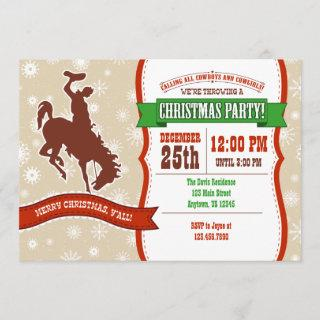 Cowboy Christmas Party