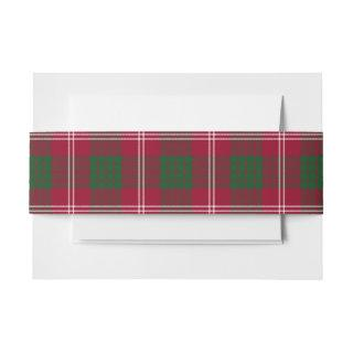 Crawford Scottish Tartan Belly Band