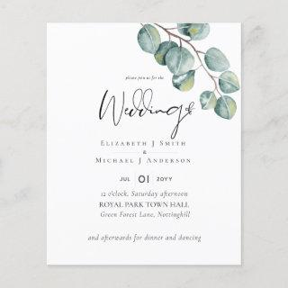 Create Your Own Custom Eucalyptus Greenery Wedding