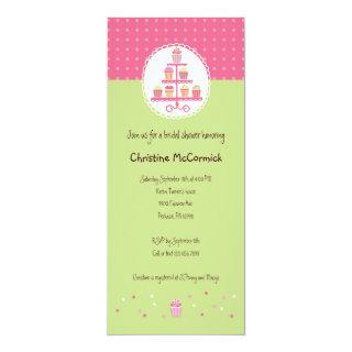 Cupcakes on a Stand Invitations
