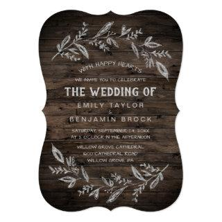 Curved Branches | Wooden The Wedding Of Invitation