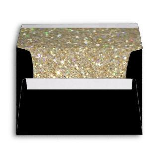 Custom Envelope - (5x7) Black Fab