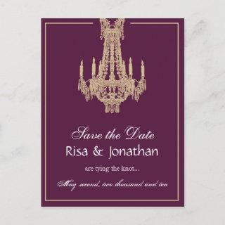Custom order - Save the Date Announcement Postcard