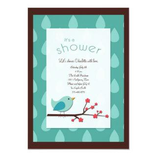 Customizable Shower Invitations