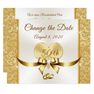 Customize 50th Anniversary Change the Date Cards