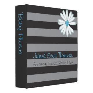 Cute Retro Artistic Scrapbook or Photo Album Binder